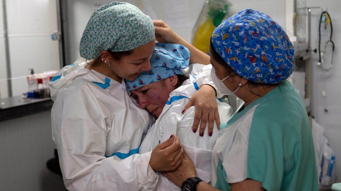 Coronavirus en Argentina: 142 nuevas muertes y 13.286 contagios en las últimas 24 horas