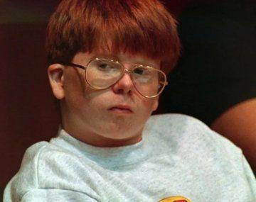 Eric M. Smith con 13 años en el juicio que lo condenaría a prisión por más de 2 décadas.