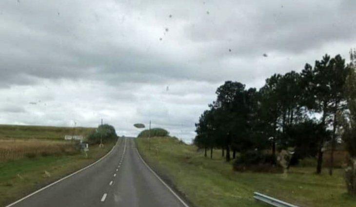 Córdoba: cree que vio una serie de OVNIs en la ruta