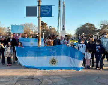 Patricia Bullrich destaca una marcha de 21 personas en Balcarce