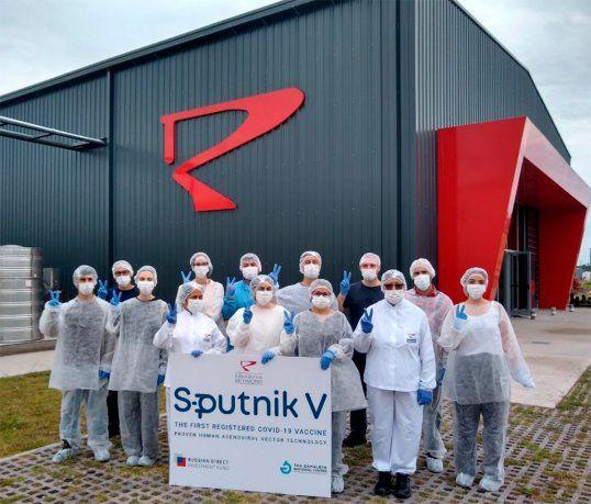 Finalizó la producción de las primeras dosis de la vacuna Sputnik V en Argentina