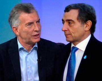 Mauricio Macri y Fabián Pepín Rodríguez Simón