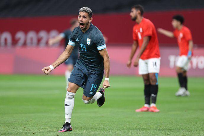 Argentina le ganó a Egipto y tiene chances de pasar a cuartos de final
