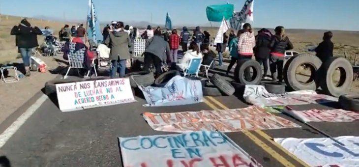 Conflicto patagónico: cortes en Neuquén y en la Ciudad de Buenos Aires