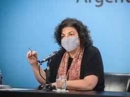 Vizzotti: Todas las personas van a completar su esquema de vacunación