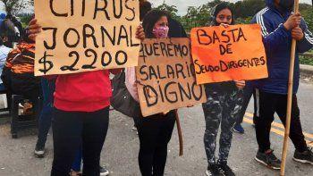 siguen los cortes en tucuman: trabajadores responsabilizan a uatre y hay preocupacion empresarial