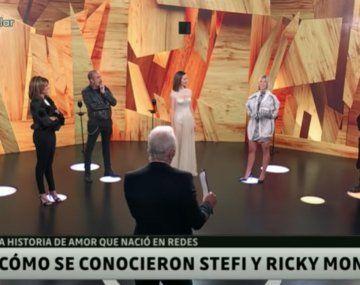 Stefi Roitman contó como nació la historia de amor con Ricky Montaner