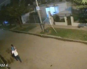 Tragedia en Merlo: caminaba por la calle con su hijo de 3 años y murió aplastado por un árbol