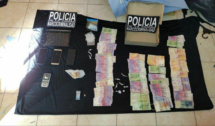 Detuvieron a cuatro integrantes de una red narco en el barrio Los Piletones