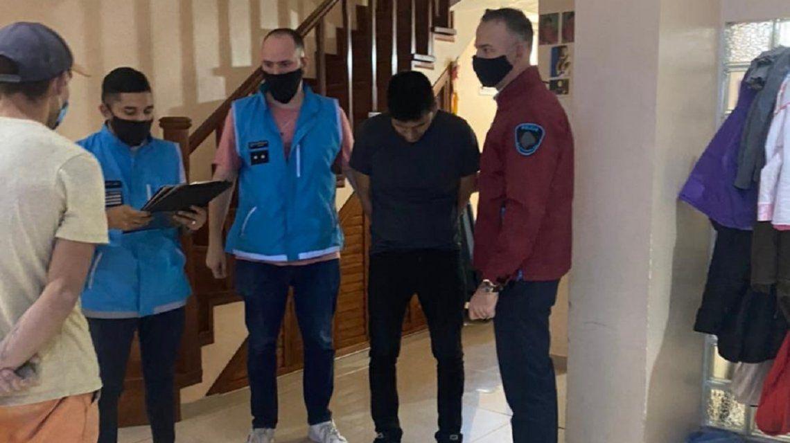 Quedó detenido Garzón Martínez, el acusado de violar a la joven venezolana en Balvanera