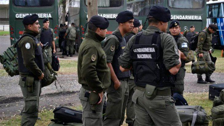 El Gobierno suma mil gendarmes en el AMBA