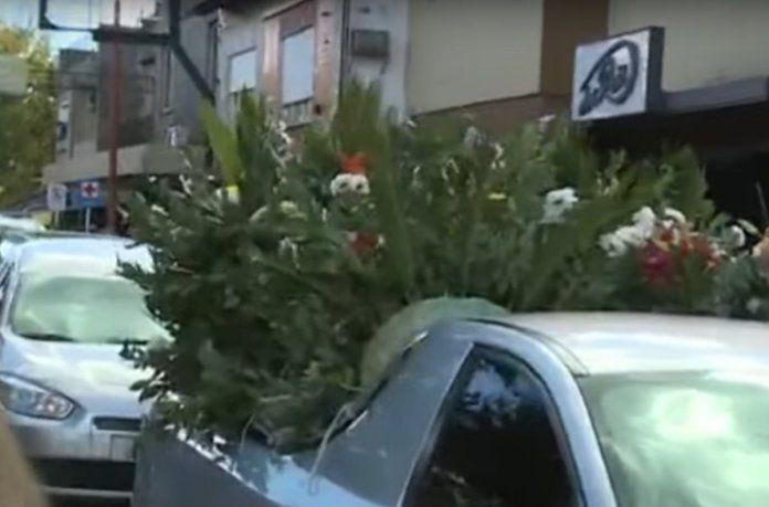 El entierro del ministro Mario Meoni