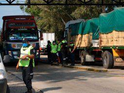 camioneros de paraguay circulaban con pcr falsos en jujuy