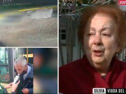 Desgarrador relato de la viuda del jubilado atropellado por un colectivero borracho: Él era mi motor