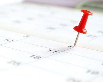 ¿Cuándo será el próximo feriado?