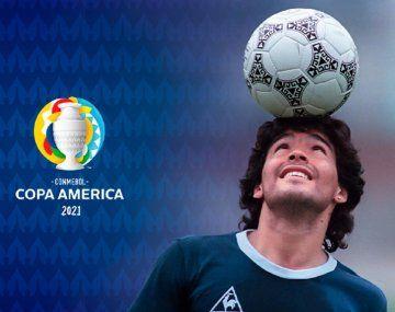 Expectativa por el homenaje de Conmebol a Diego Maradona
