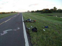 Santiago del Estero: tres muertos en un accidente en la ruta Foto: 3500 Noticias