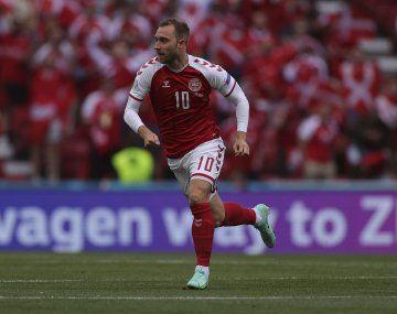 Dinamarca informó el parte médico de Christian Eriksen