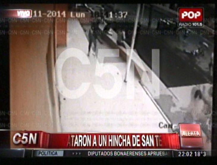 Así asesinaron a un hincha de San Telmo en un choque entre barras