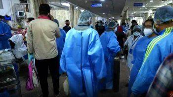 India: crecen los casos de coronavirus de manera exponencial