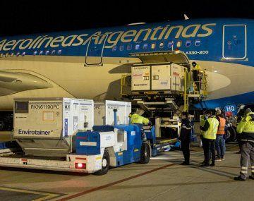 Argentina superará este jueves las 40 millones de vacunas recibidas