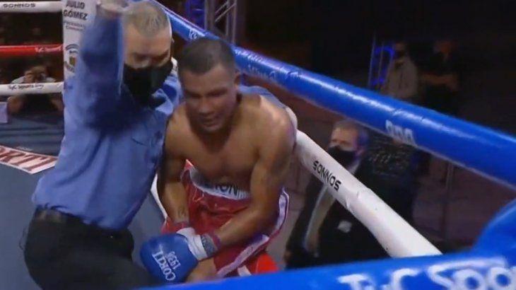 Boxeo: tras el KO, se complicó la salud de Maxi Verón