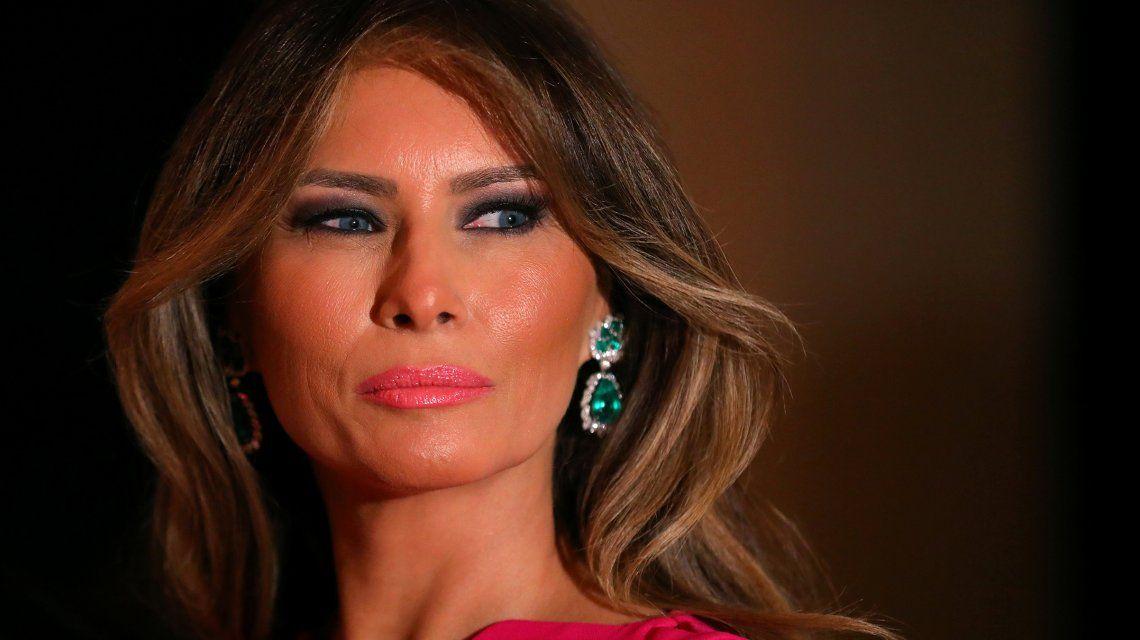 Estados Unidos: Melania Trump se despidió de la Casa Blanca