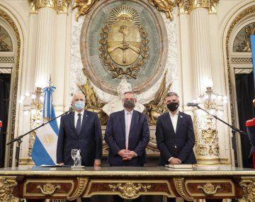 Jorge Taiana y Juan Zabaleta juraron como nuevos ministros