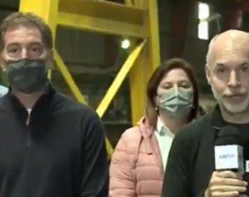 El acto fallido de Horacio Rodríguez Larreta: ¿prefería a Santilli en la Ciudad antes que a Vidal?