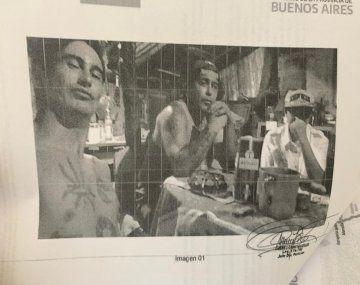 Esta es la foto que une a Tehuel con Montes y Ramos