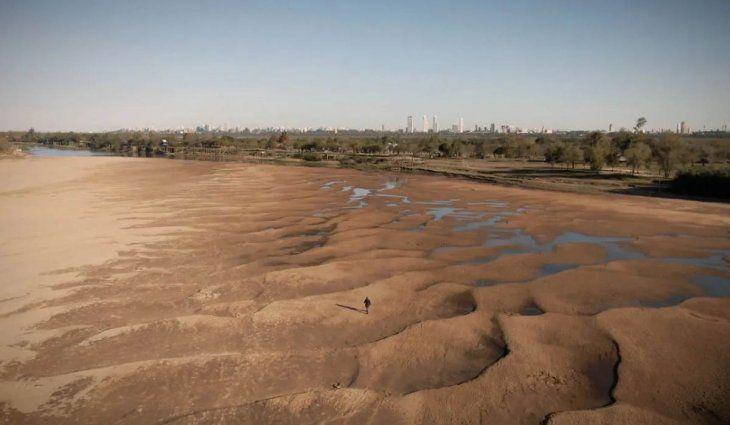 El Gobierno declaró la «emergencia hídrica» ante la histórica bajante en el Río Paraná