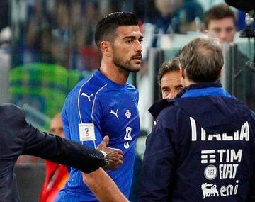 Pellè fue expulsado de la selección italiana