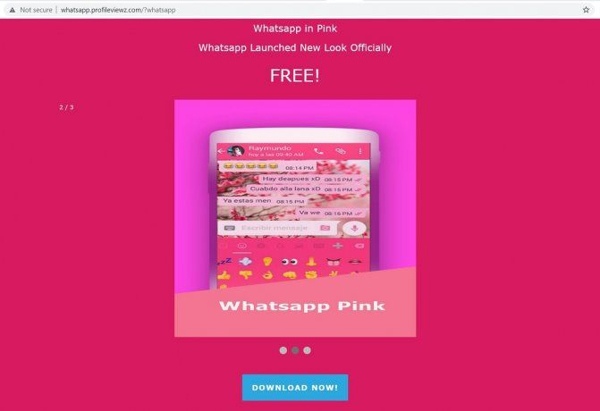 WhatsApp Pink es una modalidad de estafa que ataca a los celulares con sistema Android