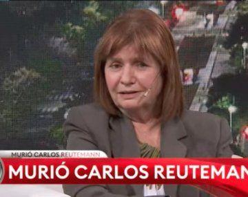 Patricia Bullrich habló de Reutemann pensando que había muerto