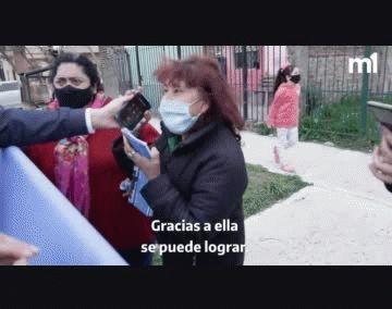 Vecina de Quilmes habló por teléfono con Cristina Kirchner