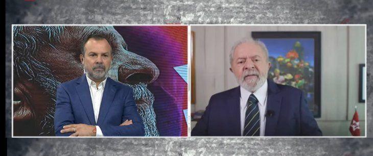 Lula habló de su candidatura en C5N: Estoy listo para dar pelea