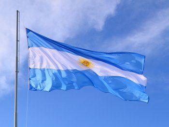 La bandera de Argentina, creada por Manuel Belgrano