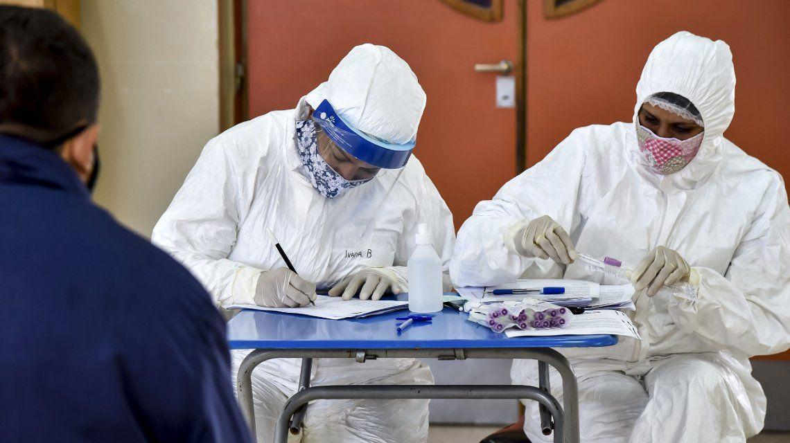 Coronavirus en Argentina: reportaron 8.317 nuevos casos y 349 fallecidos en las últimas 24 horas