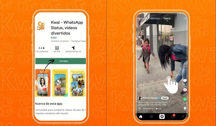 Cómo funciona Kwai, la nueva app de videos cortos