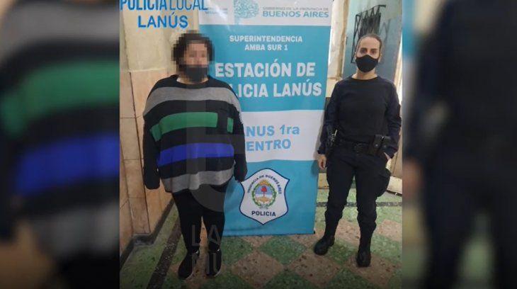 Detuvieron a una mujer que vendía cigarrillos de marihuana en la estación de Lanús
