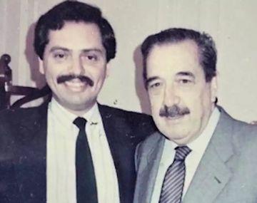 Alberto Fernández y Raúl Alfonsín