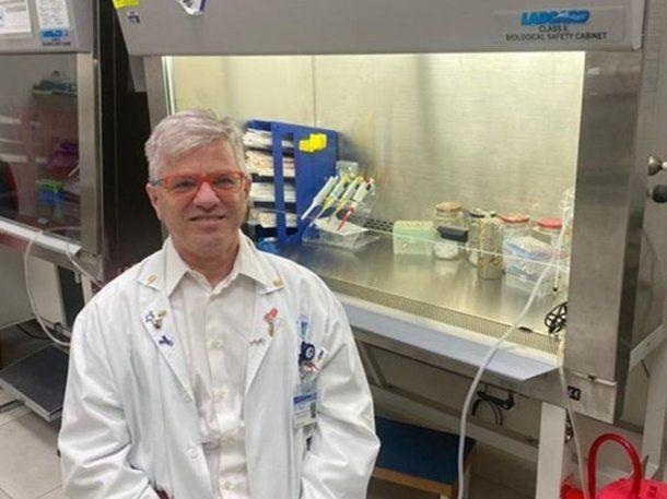 El profesor Nadir Arber desarrolló la sustancia EXO-CD24.
