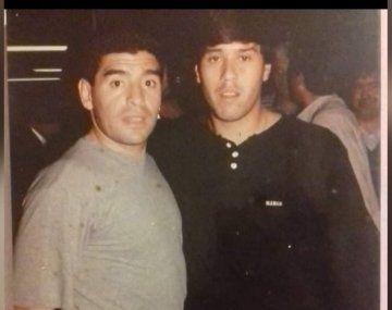 Murió por covid el futbolista que Diego Maradona eligió como su sucesor cuando fue DT de Racing