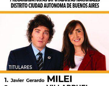 ¿Por qué Javier Milei se retocó el rostro en la boleta?