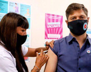 Kicillof: Hablé con Almeyda y me pasó el contacto de quien le dijo que traería vacunas