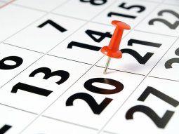 calendario de feriados de 2021: ¿cuanto falta para el proximo fin de semana largo?