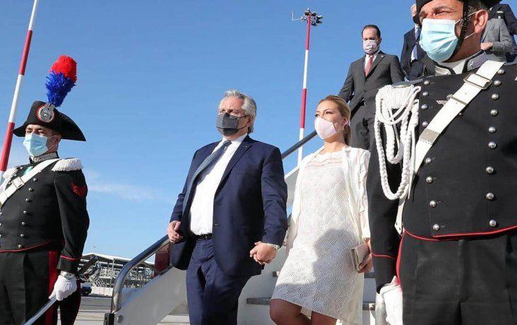 Alberto Fernández se reúne con Kristalina Georgieva en Roma