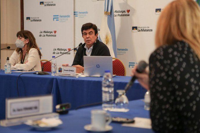 Fernando Espinoza: En La Matanza la situación está contenida