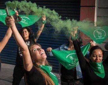 Protesta a favor del aborto en Ciudad de México, en 2019 (Foto gentileza: Andrea Murcia / CUARTOSCURO)