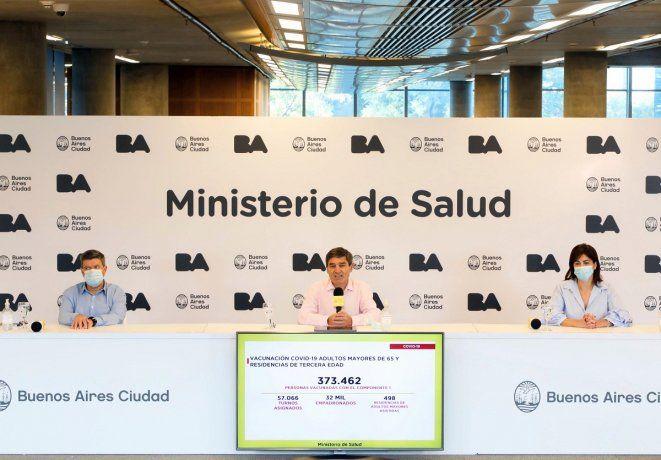 El ministro de Salud porteño, Fernán Quirós, dijo que en los últimos diez días